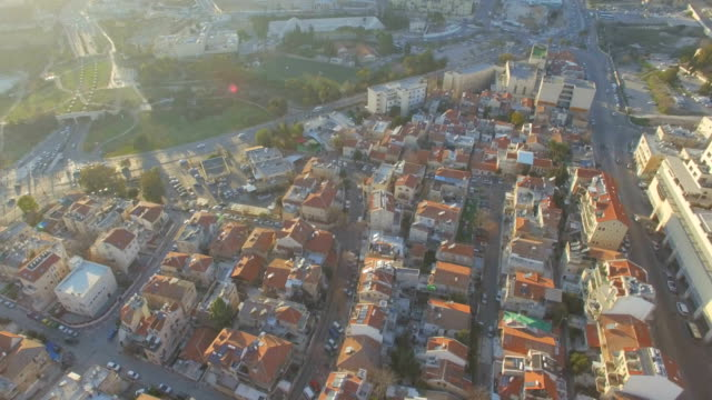 aerial / jerusalem urban landscape at the west entrance to the city - jerusalem stock videos & royalty-free footage