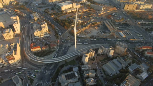 Aerial / Jerusalem - view from west to east