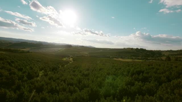 vídeos y material grabado en eventos de stock de paisaje de aérea - horizonte sobre tierra