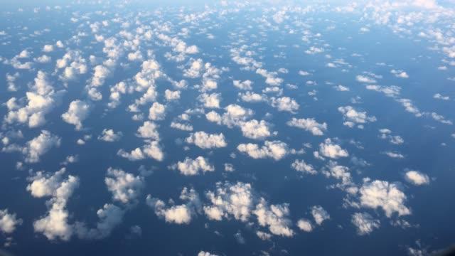 Aerial Landscape View of Cloudscape