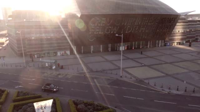 Aerial Millennium Centre