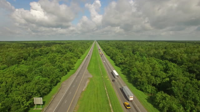 aerial mississippi countryside - major road stock videos & royalty-free footage