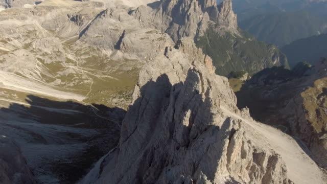 Antenn: bergstopp, Dolomiterna Italien