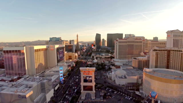 aerial nevada las vegas - las vegas stock videos & royalty-free footage