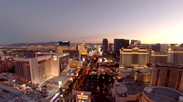 aerial nevada las vegas - nevada stock videos & royalty-free footage