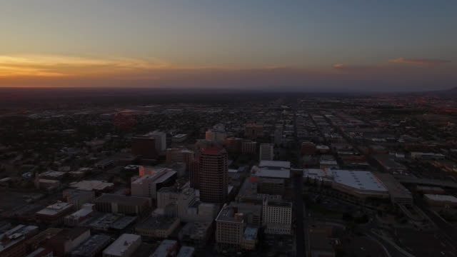 aerial new mexico albuquerque - new mexico stock videos & royalty-free footage
