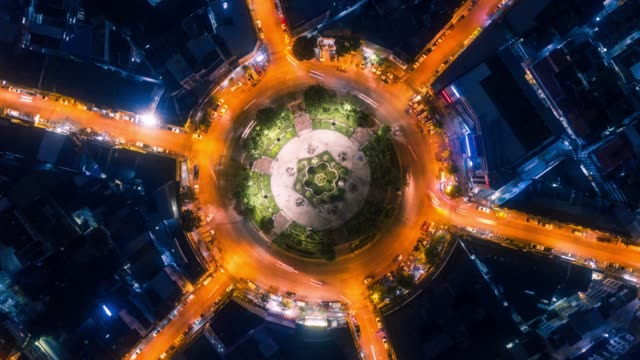 aerial night vertical timelapse - major road stock videos & royalty-free footage