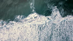 Aerial ocean wave