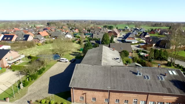 Aerial of a village