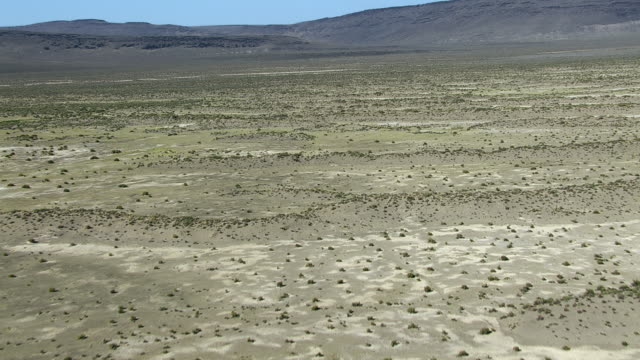 aerial of arid landscape in oregon - oregon us state stock videos & royalty-free footage