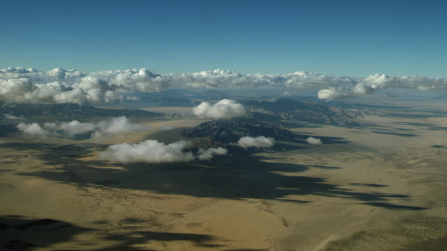 aerial of arid mountains in california - riverside california stock videos and b-roll footage
