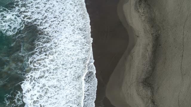 aerial of beach - coastline stock videos & royalty-free footage