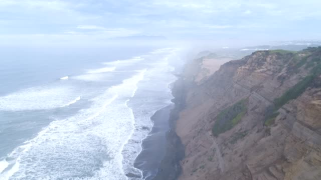 aerial of beach - named wilderness area stock videos & royalty-free footage