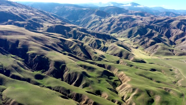 aerial of california grapevine and interstate 5 freeway farmland - angeles national forest stock videos and b-roll footage