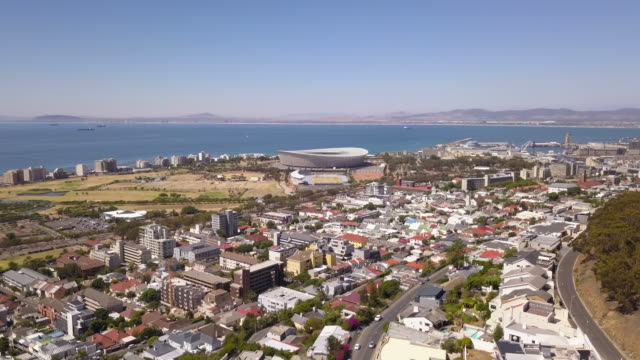 Aerial of Cape Town, South Africa