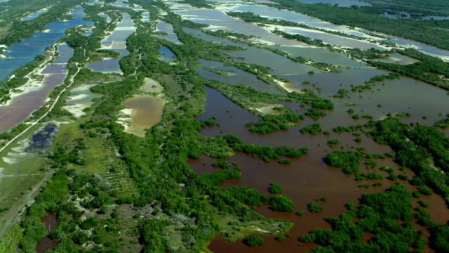 Aerial Of Celestun Biosphere Reserve