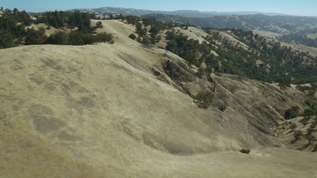 aerial of diablo range foothills in ca - foothills stock videos & royalty-free footage