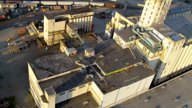 aerial of downtown seattle city usa - norra stilla havet bildbanksvideor och videomaterial från bakom kulisserna