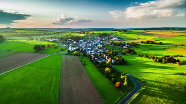 Aerial of German Village