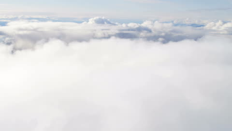 aerial of greenland arctic glacier and icebergs - cumulus cloud stock videos & royalty-free footage