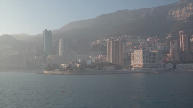 aerial of monaco - monaco stock videos and b-roll footage