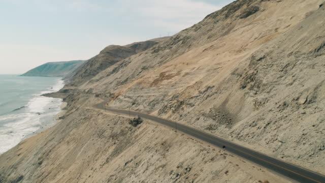 aerial of pan-american highway - pan american highway stock videos & royalty-free footage