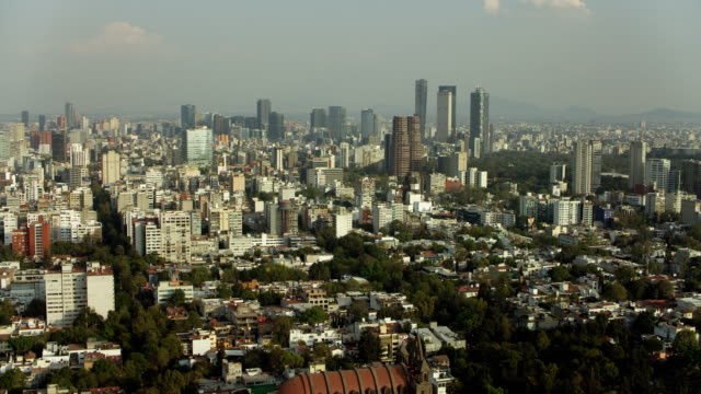 Aerial Of Polanco District Mexico City