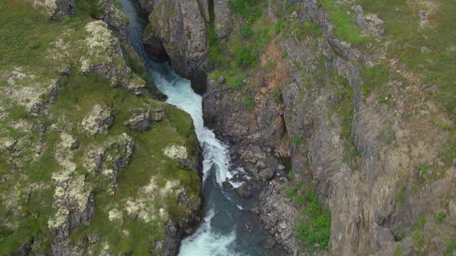 Aerial Of River Gorge In Southwest Alaska