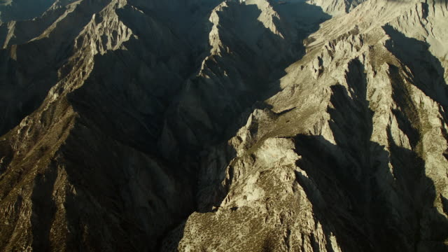 Aerial Of Rugged Sierra Nevada Crest