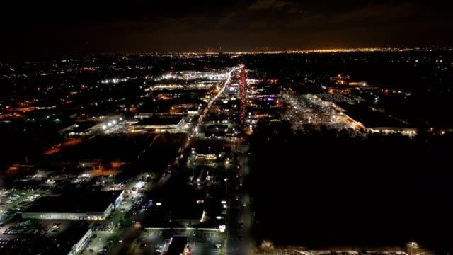 aerial of small city - mumbai stock videos & royalty-free footage