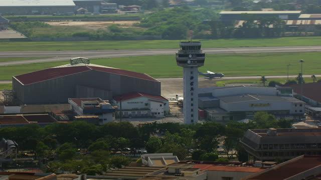 Aerial Of Subang Skypark In Malaysia
