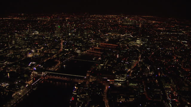 Aerial of the City of London.