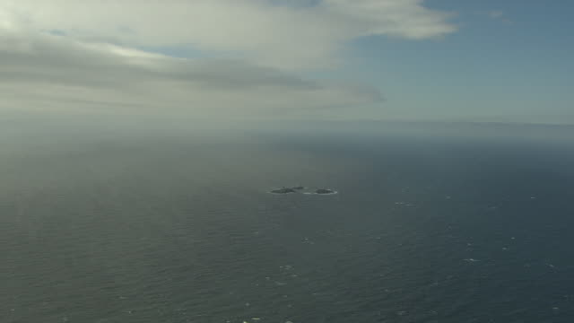 aerial of the north sea - north sea stock videos & royalty-free footage