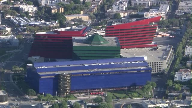 KTLA Aerial Of The Pacific Design Center In West Hollywood on March 25 2015 The Pacific Design Center or PDC is a 1000 square feet multiuse facility...