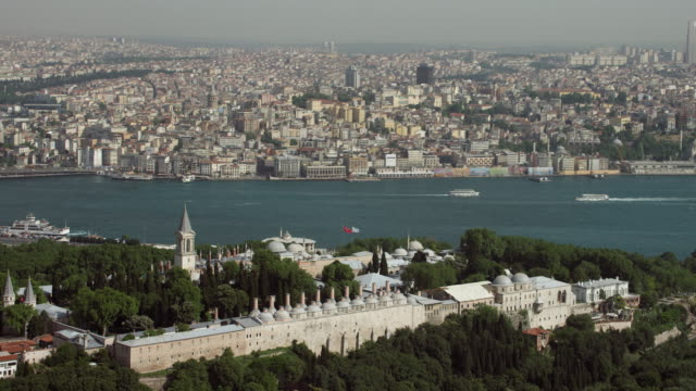 Aerial Of Topkapi Palace In Istanbul