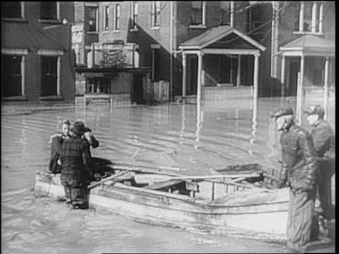 aerial ohio river floods parts of cincinnati / houses farms bridges and airport underwater / flooded business district street sign and phone line... - telephone switchboard stock videos and b-roll footage