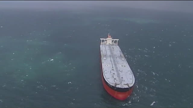 aerial oil tankers in the persian gulf - ship stock videos & royalty-free footage
