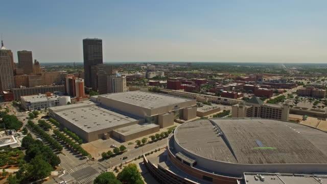aerial oklahoma oklahoma city - oklahoma stock videos & royalty-free footage