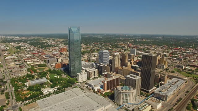 aerial oklahoma oklahoma city - oklahoma stock videos & royalty-free footage