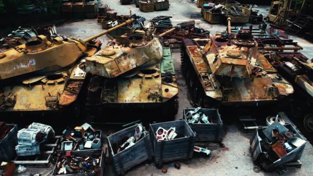 aerial old tanks - storage tank stock videos & royalty-free footage