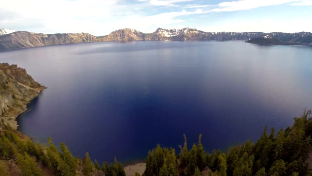 Aerial Oregon See Crater Lake