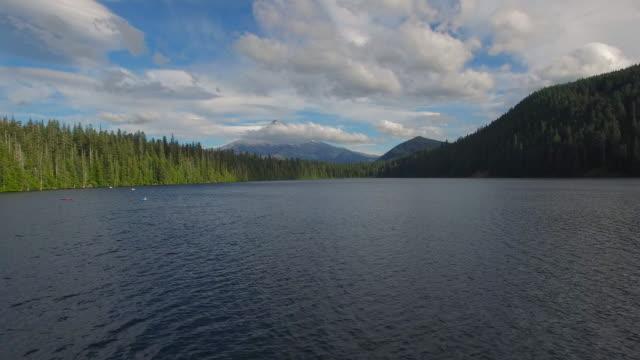 Aerial Oregon Lost Lake