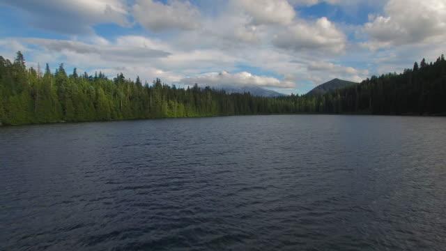 空から見たオレゴン紛失湖