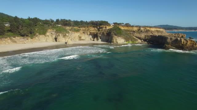 Aerial Oregon Newport Beach