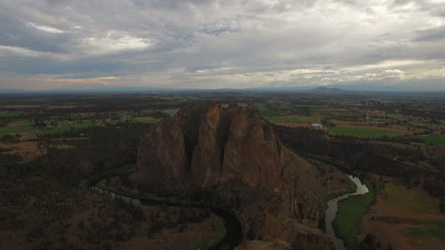 Aerial Oregon Smith Rock State Park