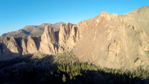aerial oregon smith rocks - oregon us state stock videos & royalty-free footage