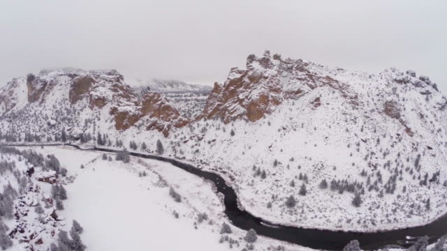 aerial oregon smith rocks - oregon us state stock videos and b-roll footage