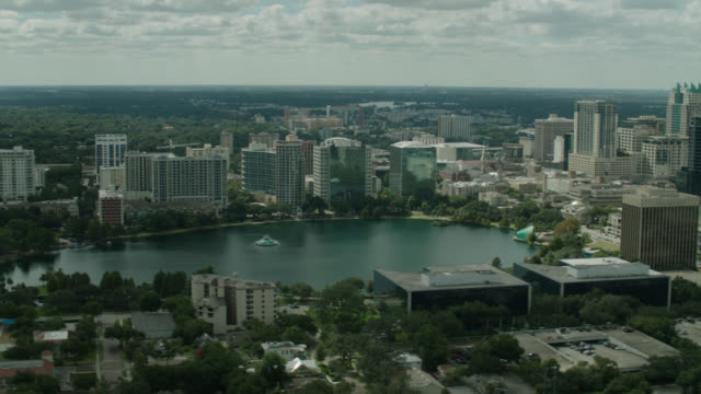 aerial orlando, florida - orlando florida stock videos & royalty-free footage