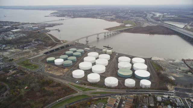 Aerial over gas plant