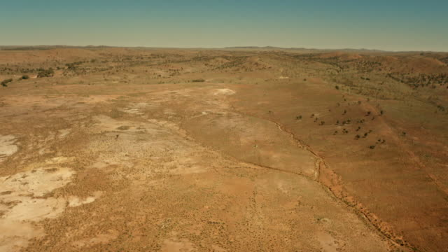 """aerial over outback, australia. - """"bbc universal"""" stock videos & royalty-free footage"""